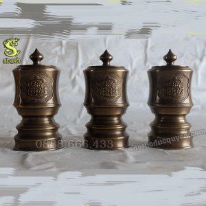 Đài nước thờ bằng đồng ( giả cổ )