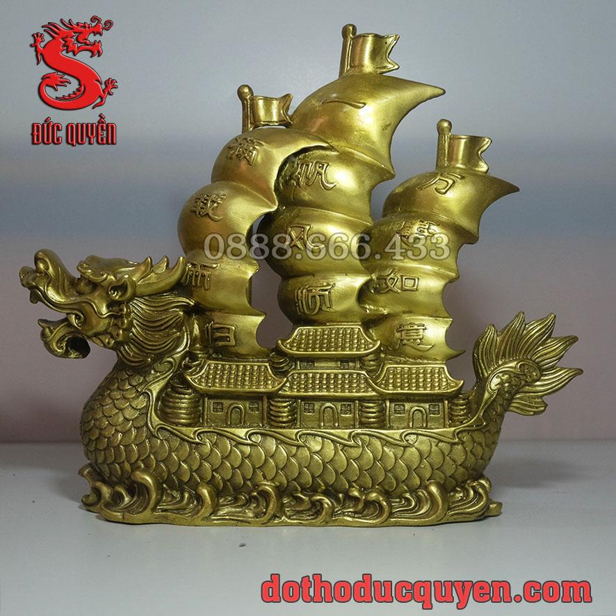 Thuyền rồng bằng đồng vàng