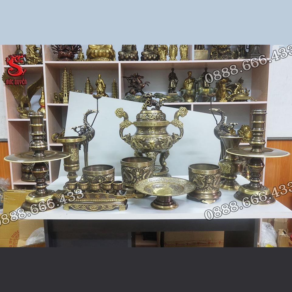Bộ đồ thờ 12 món hàng kỹ