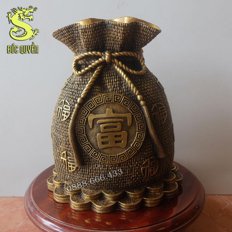 Túi tiền tiết kiệm bằng đồng vàng