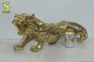 Tượng hổ bằng đồng vàng