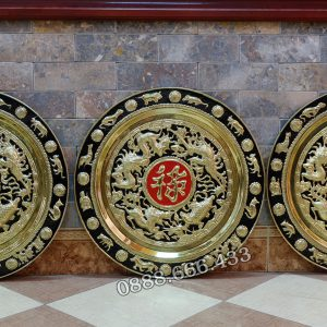 Bộ Phúc Lộc Thọ Bằng Đồng